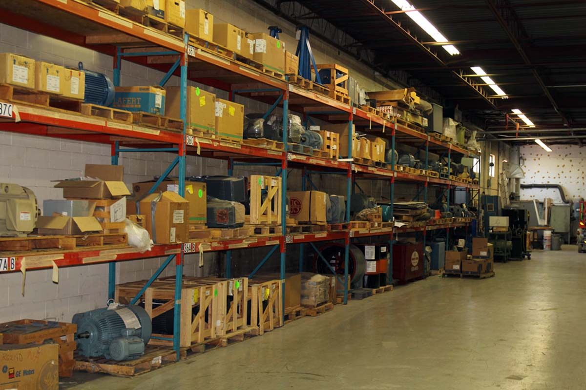 electric motor service warehouse