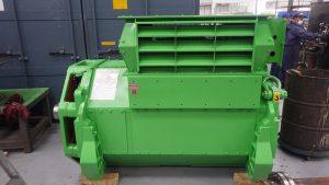 Generator repair completed